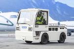 trator de reboque / com barra de reboque / para avião leve / para carreta