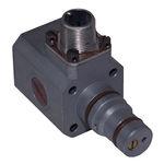 sensor de pressão diferencial / analógico / de membrana / para avião