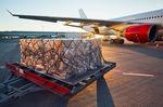 rede para carga / para bagagens / fixada no piso / para avião
