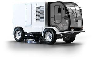 LKW-montierte Reinigungsmaschine / für die Oberflächenreinigung / für Abwasserkreislauf / Wasserstrahl