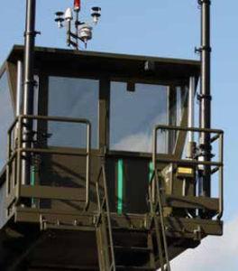 mobiler Kontrollturm / für Flughäfen / für Luftverkehrsmanagement