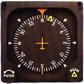 analoges Heeadinglock / für Flugzeuge / 3