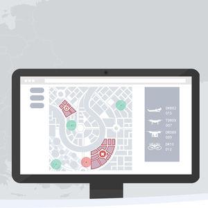 Management-Software / meteorologisch / für Drohnen / Echtzeit