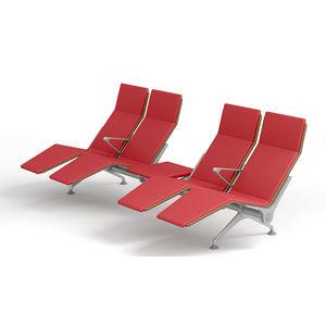 Traversenbänke für Flughäfen / für mehrere Personen / mit Armlehnen