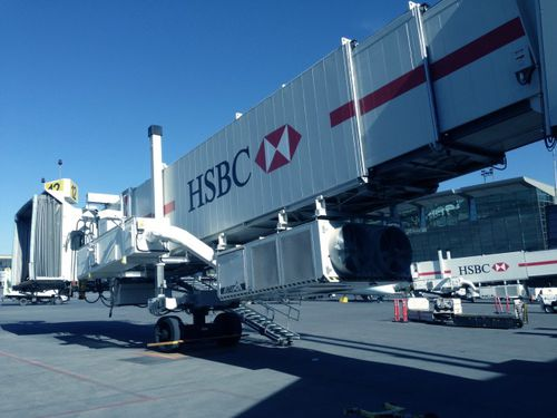 Boarding Gangway / für Passagiere / abnehmbar / für A380 / für die Nase des Flugzeugs