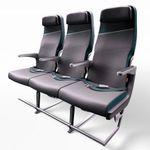 Flugzeugsitz / für Passagiere