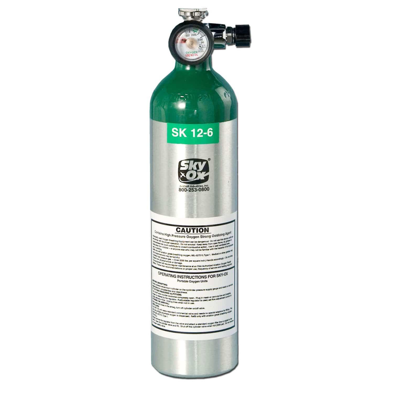 Botella De Oxígeno Para Avión Sk12 6 Cv Skyox