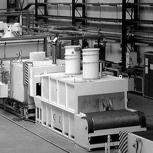 horno eléctrico / de cámara / para la industria aeroespacial