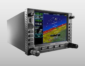 NAV/COM GPS / montado en panel / para avión