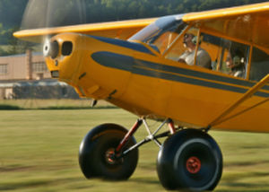 amortiguador para avión ligero