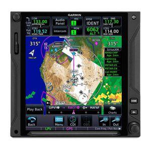 NAV/COM GPS / montado en panel / para avión ligero