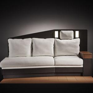tejido para tapicería aeronáutica para funda de asiento / de cuero / con relieve