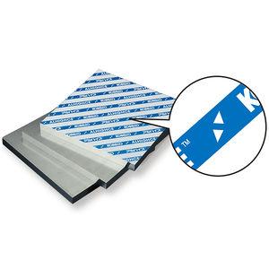 aluminio en placas / para la aeronáutica
