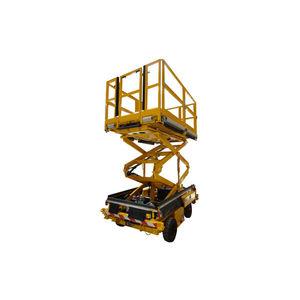 plataforma elevadora de mantenimiento / de tijera / para avión