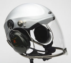 casco para paramotor / para ultraligero / para ultraligero motorizado / semi-jet