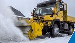 barredora montada en tractor / sobre raíles-carretera / para pista