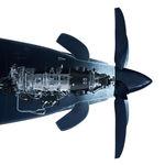 turbopropulsor 1000 - 3000 caballos / para la aviación general