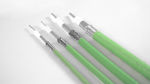 cable para avión / de datos / coaxial / de alta temperatura