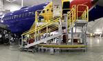 dock aeronáutico para avión / para el fuselaje / móvil