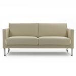 sofá para sala VIP de aeropuerto / modular / de tejido / de cuero