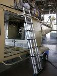 miniescalerilla de mantenimiento / para helicóptero