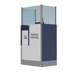 mostrador de facturación / de información / para aeropuerto
