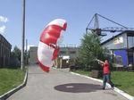 paracaídas de emergencia