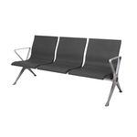 asiento con estructura modular para aeropuerto