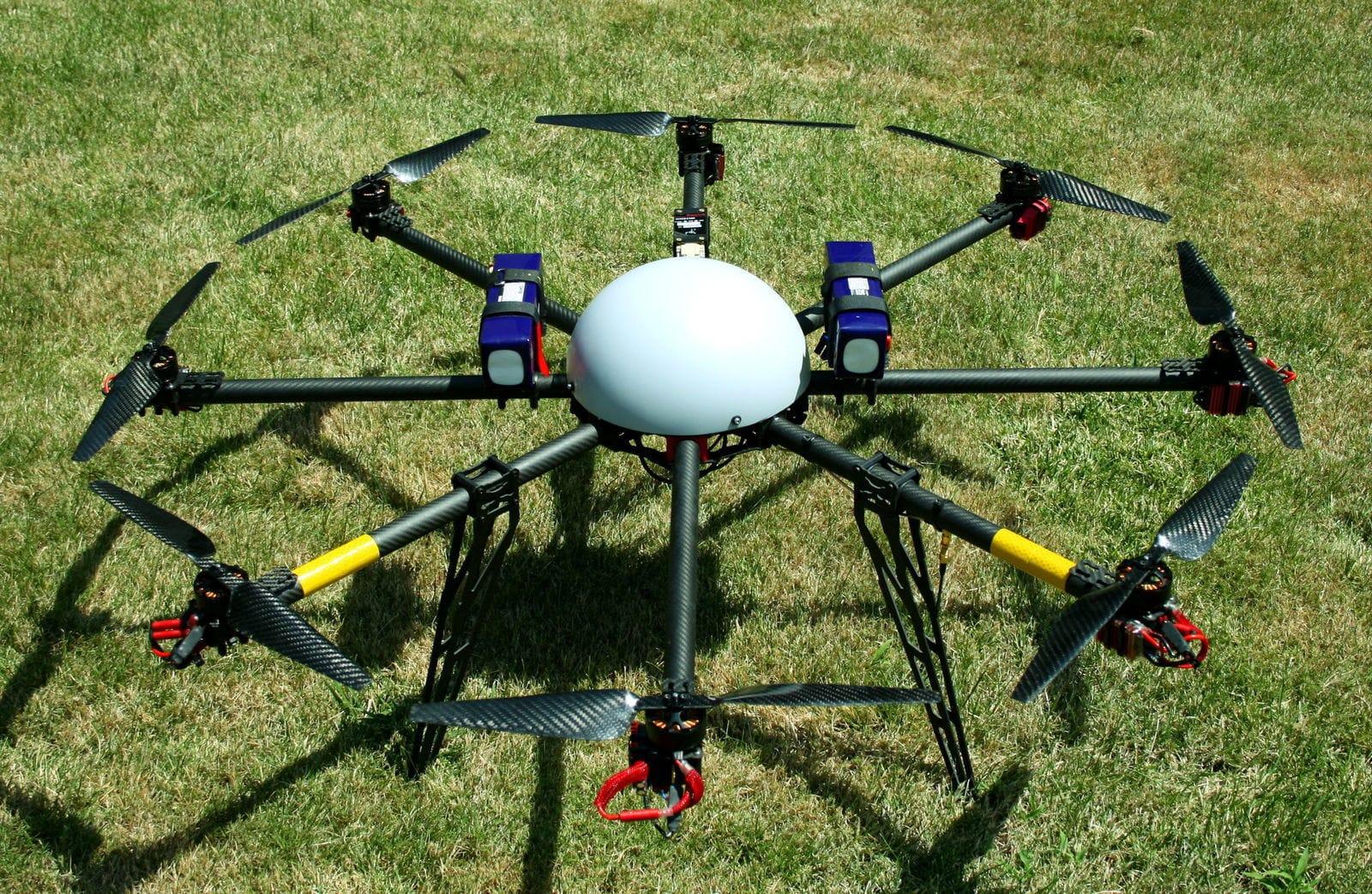 drone 6 moteurs