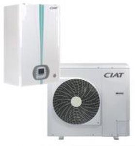 pompe à chaleur pour aéroport / air/eau / inverter / connectée