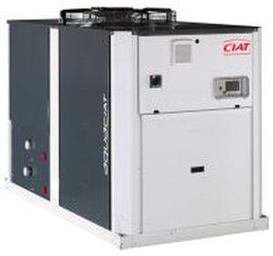 pompe à chaleur pour aéroport / air/eau / réversible / connectée