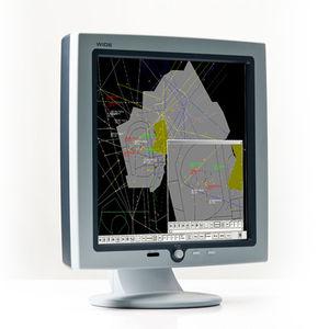 écran pour contrôle aérien LCD / 2048 x 2048