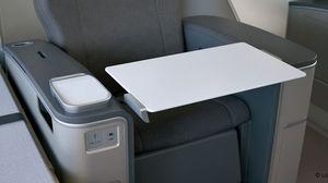 tablette de siège pour avion