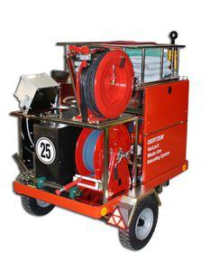 aspirateur pour aéroport / à déchets / électrique / mobile