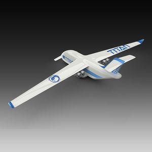 drone industriel / de transport / à voilure fixe / avec moteur à pistons
