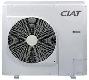 pompe à chaleur pour aéroport / air/eau / réversible / inverter