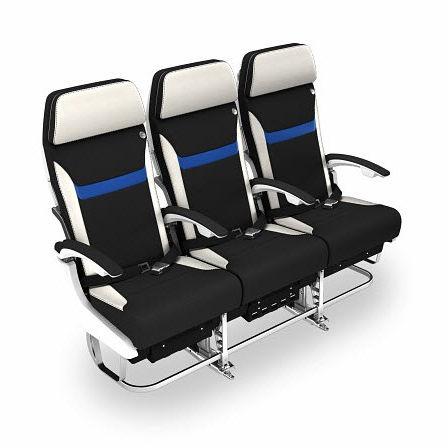 siège pour cabine d'avion