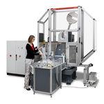 machine d'essai en température / de résistance à la traction / de matériaux / automatique