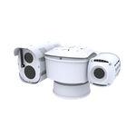 caméra de vidéosurveillance / d'imagerie thermique / pour aéroport / PTZ