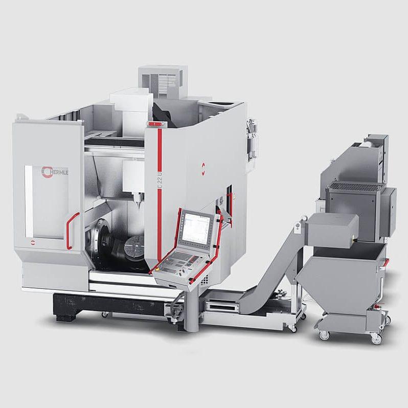 5-axis machining center / horizontal / for aeronautics C 22 MASCHINENFABRIK  BERTHOLD HERMLE AG