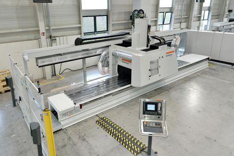 5-axis machining center - PBZ® SC - BAVIUS TECHNOLOGIE GMBH - horizontal / for aeronautics
