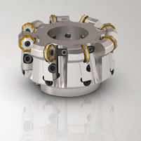 Shell-end milling cutter / for aluminum / coated / HSS Double Octomill™  SECO TOOLS