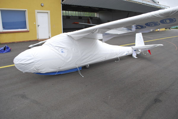 Glider cover / cockpit / for aircraft wings - ISS Protect by Roland