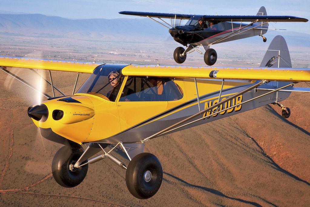4-seater light sport aircraft / 4-stroke engine / single