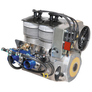 50 - 100hp piston engine / 10 - 50kg / for helicopters / 2
