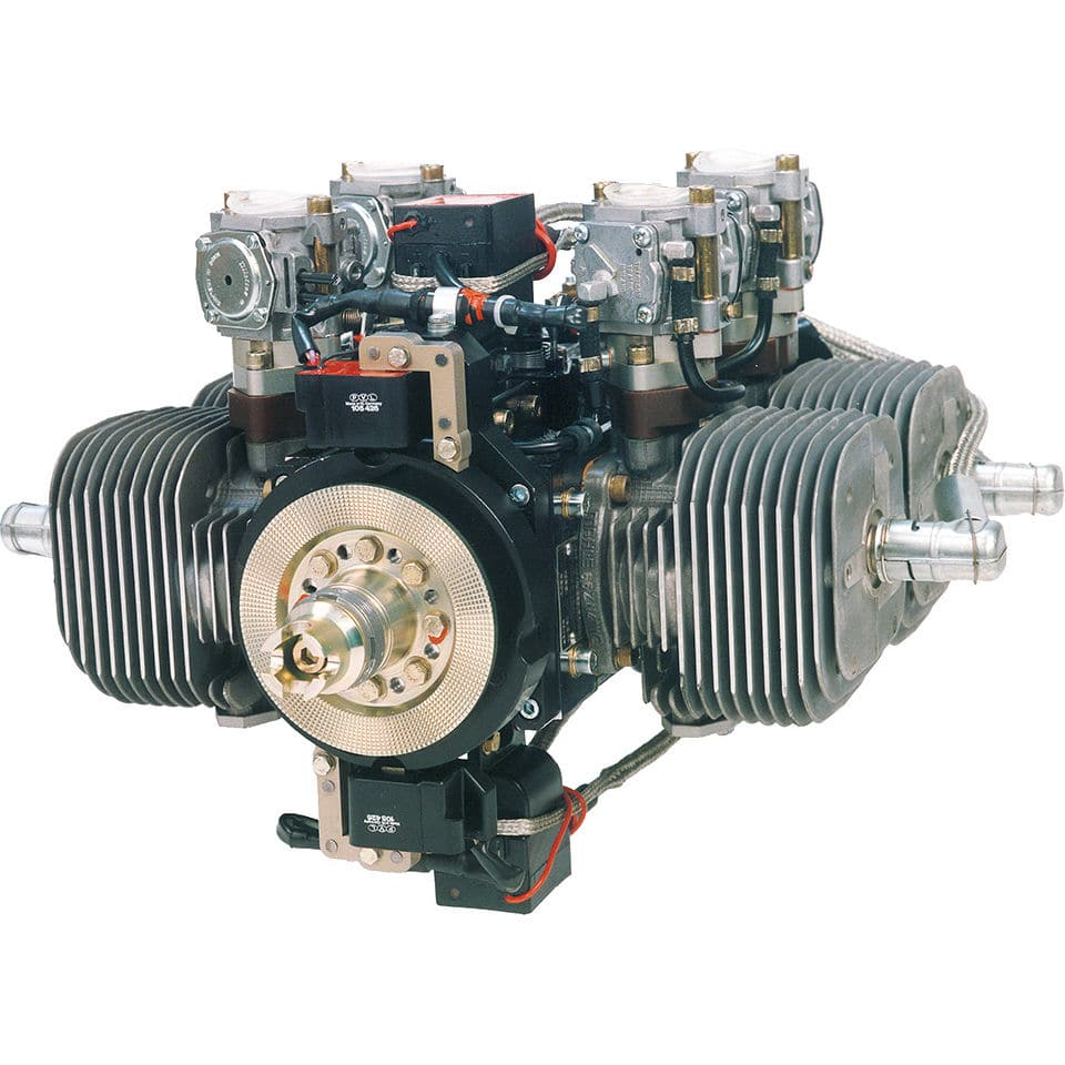 10 - 50hp piston engine / 10 - 50kg / 2-stroke / 4-cylinder