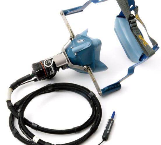 Pilot oxygen mask - Adams Rite Aerospace Inc