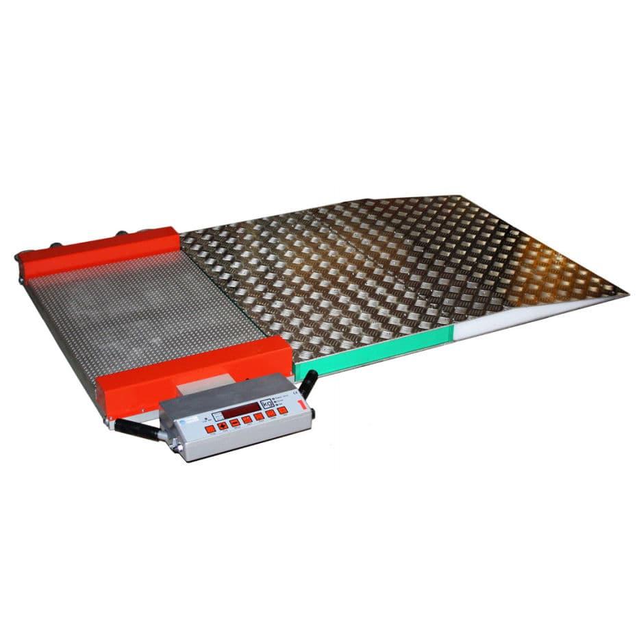 플로어 스탠딩 저울-EVOJET-Teknoscale oy-항공기 / 전자 / 공항 용