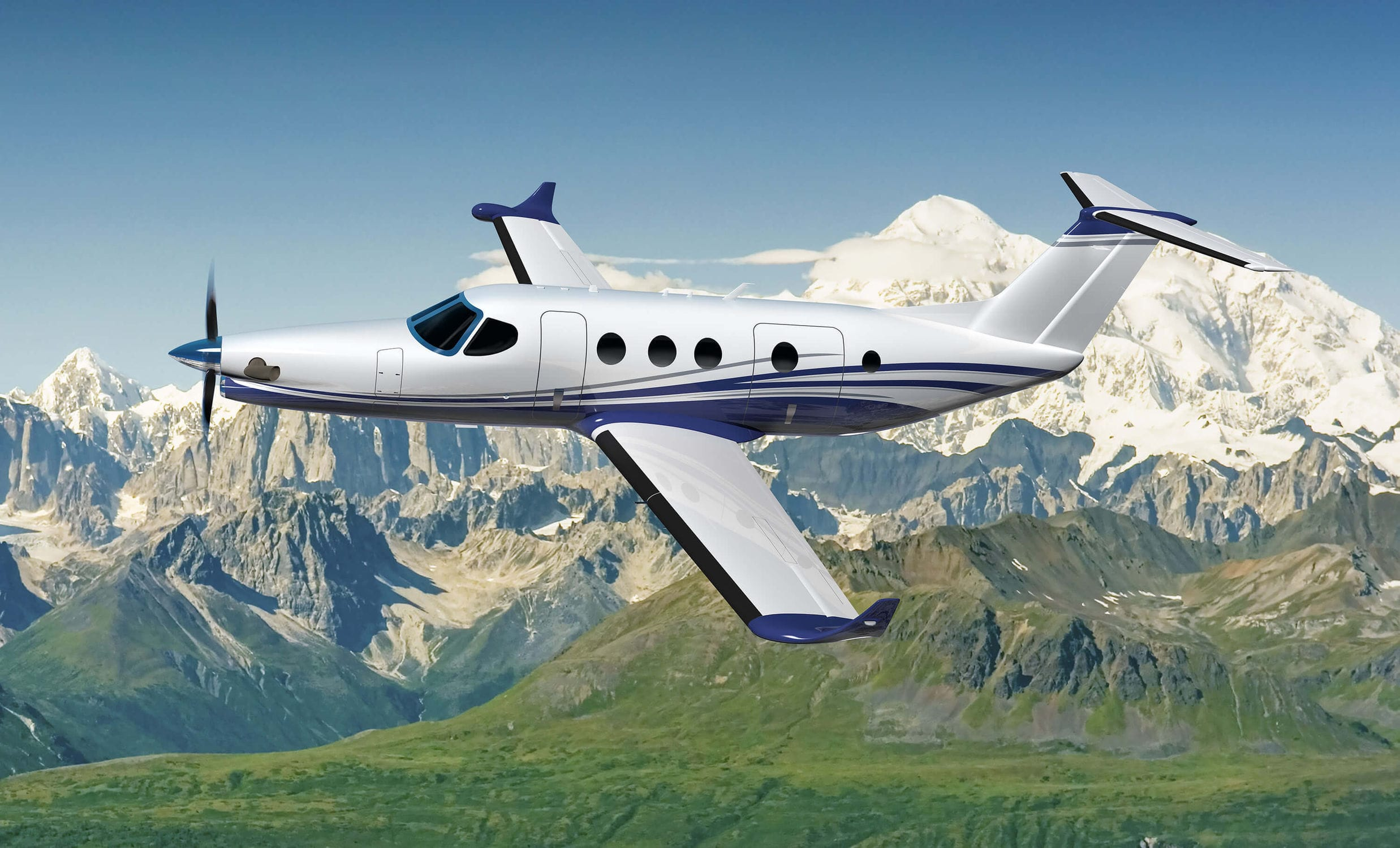 10-seater private plane - Denali - CESSNA AIRCRAFT COMPANY - 11-seater / 8- seater / 9-seater