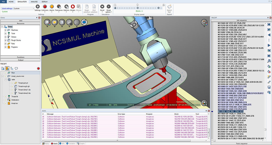 Simulation software / CAD/CAM / programming / for